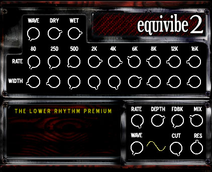 The Lower Rhythm Equivibe 2 VST 1.0, vst plugins the lower rhythm, VST, The Lower Rhythm