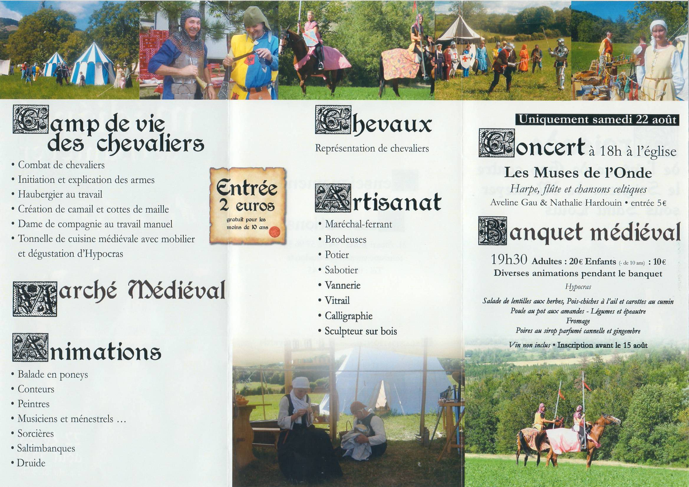 Fete Médiévale de Manteyer - 22-23 Aout 2009 Scan02-106641e