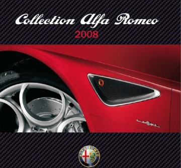 forum alfa mito catalogue officiel 2008 produits d riv s alfa romeo. Black Bedroom Furniture Sets. Home Design Ideas