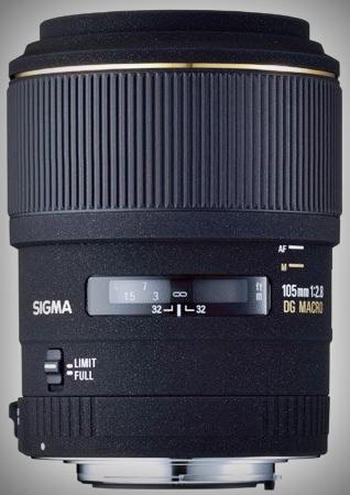 SIGMA 105 mm f/2.8 DG Macro EX