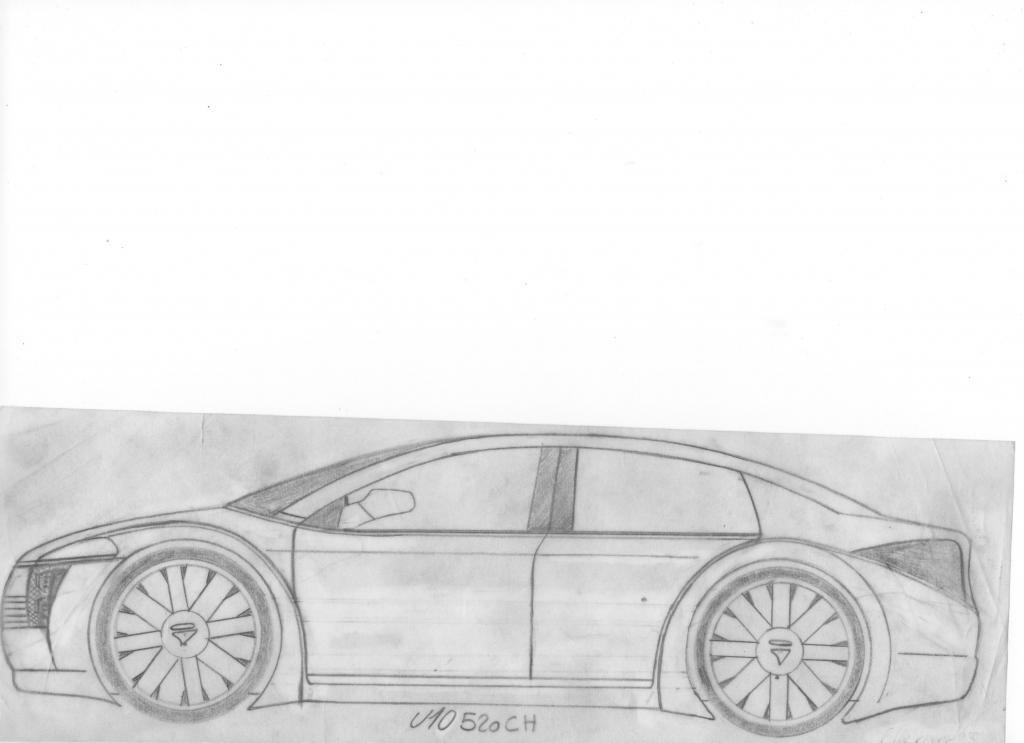 Dessin et croquie de voiture page 5 discussions hors sujet - Dessin voiture profil ...