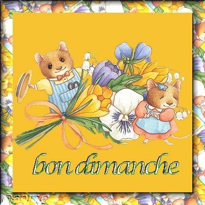 bon-dimanche-souris-flora