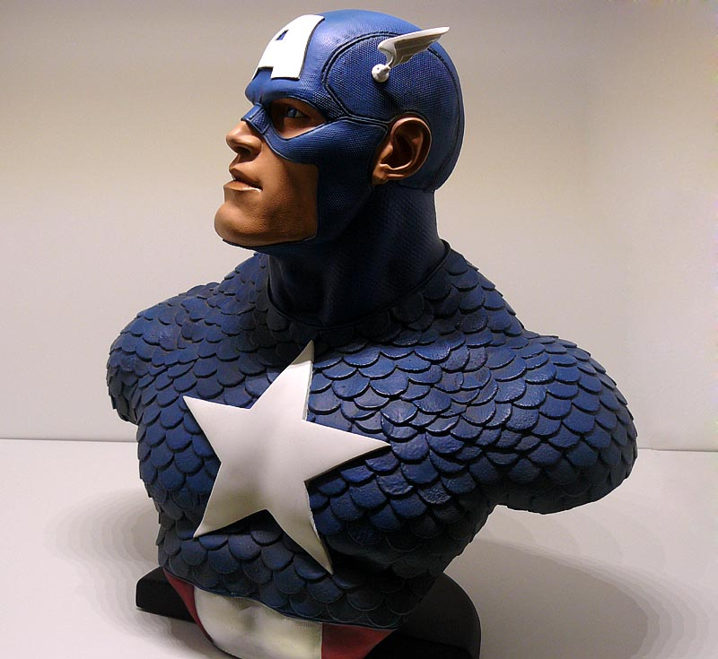CAPTAIN AMERICA Legendary scale bust P1040994-1597514