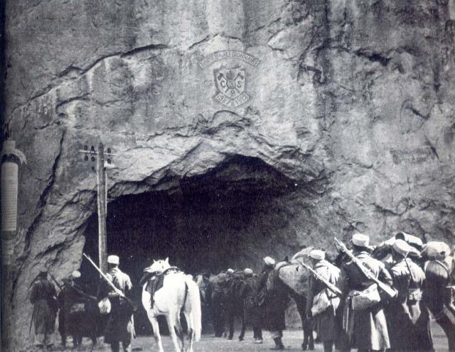 tunnel de la légion