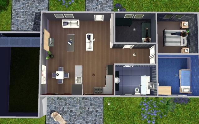 Plan maison sims 2 plan maison en longueur pictures to pin for Decoration maison sims 3