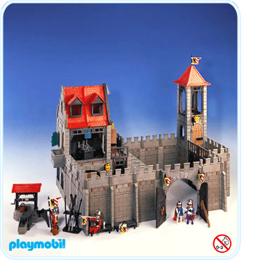 Univers playmo up afficher le sujet ch teau for Plan chateau fort playmobil