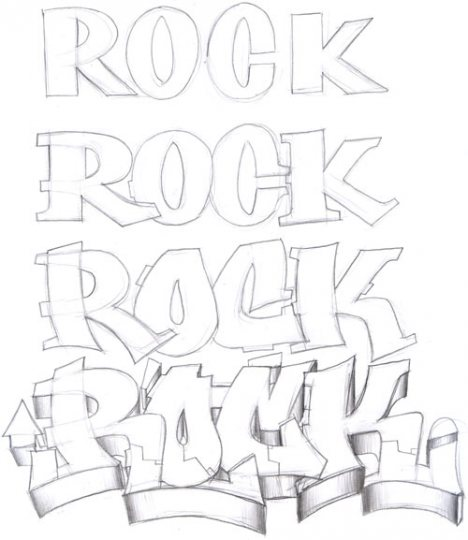 Graffiti paso a paso taringa for How to draw lettering book