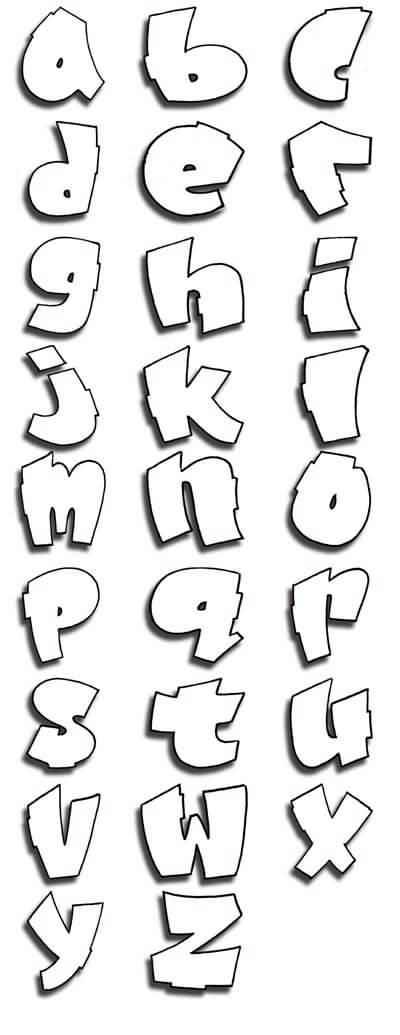 letras de graffiti. Nuevas Letras Para Graffitis!